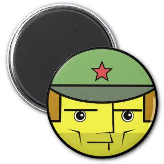 Commie Face Magnet