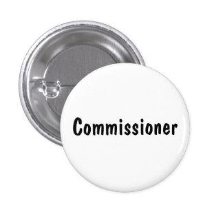Commissioner Pinback Button