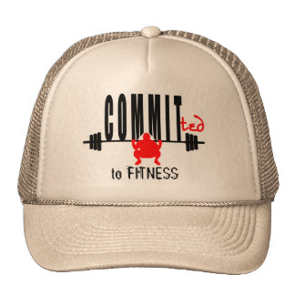 Committed to FITNESS Cap