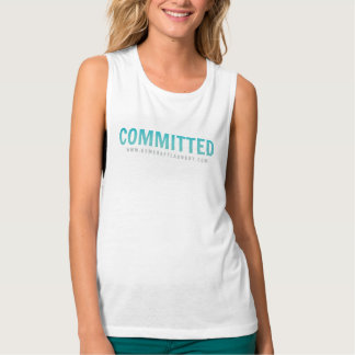 Committed to fitness! singlet