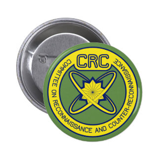 Committee on Reconnaissance and Counter-Reconnaiss 6 Cm Round Badge