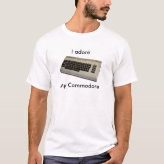 commodore64, I adore, My Commodore T-Shirt