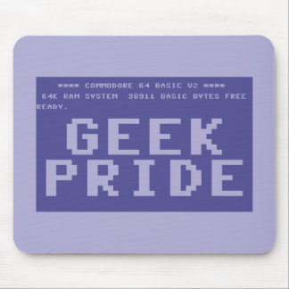 Commodore 64 Geek Pride Mouse Pad