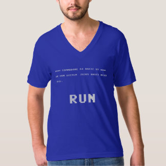 Commodore 64 Run Tee