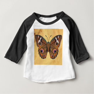Common Buckeye Butterfly Baby T-Shirt