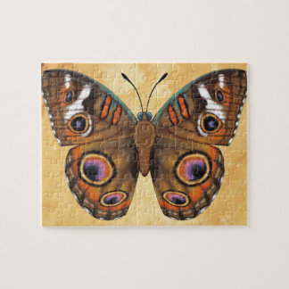 Common Buckeye Butterfly Jigsaw Puzzle