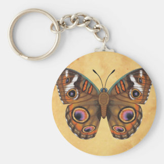 Common Buckeye Butterfly Key Ring