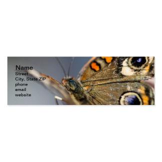 Common Buckeye Junonia Coenia Pack Of Skinny Business Cards