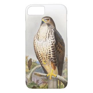 Common Buzzard John Gould Birds of Great Britain iPhone 7 Case
