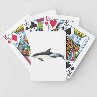 Common dolphin Delphinus delphis Bicycle Playing Cards