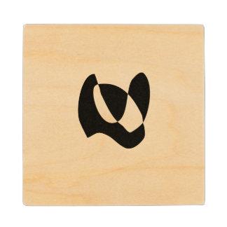 Common Eternity Wood Coaster