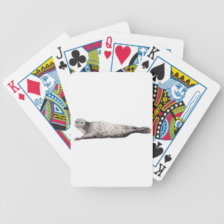 Common Foca Common Seal Bicycle Playing Cards
