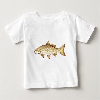 Common Golden Carp Vector Art Baby T-Shirt