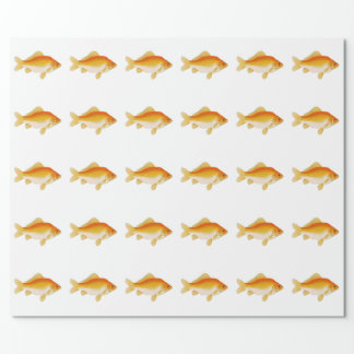Common Goldfish Wrapping Paper