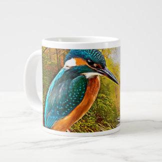 Common Kingfisher Large Coffee Mug