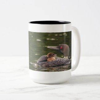 Common Loon & Baby Mug