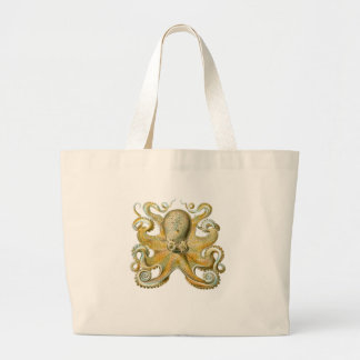 Common Octopus Canvas Bags