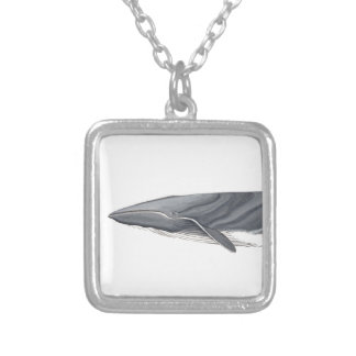 Common Rorcual Silver Plated Necklace