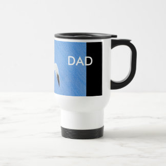 Common Tern in Flight Dad's Commuter Mug