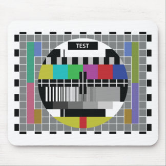 Common Test the PAL TV Mouse Pad