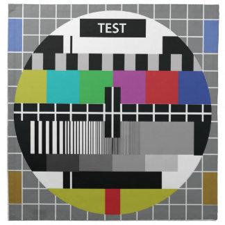 Common Test the PAL TV Napkin