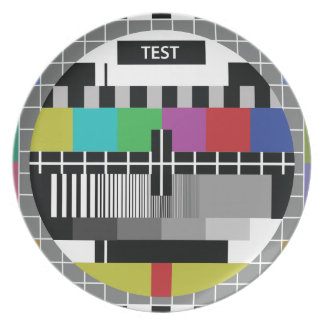 Common Test the PAL TV Plate