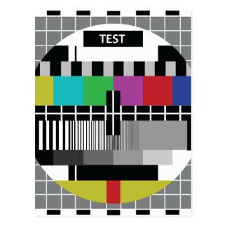Common Test the PAL TV Postcard