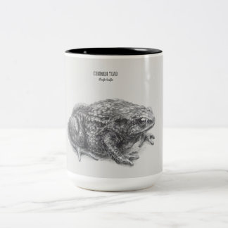 'Common toad' Two-Tone Coffee Mug