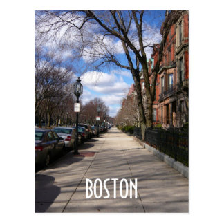 Commonwealth Avenue Postcard