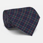 Commonwealth of Massachusetts Tartan Tie