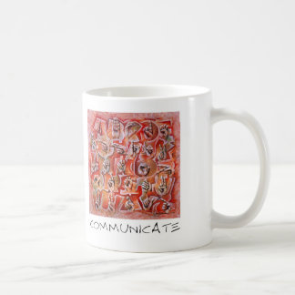 Communicate Coffee Mug
