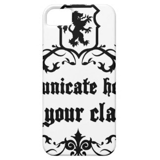 Communicate Honestly In Your Class iPhone 5 Cases