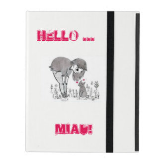 Communicate with love iPad cover