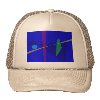 Communication in the Sky Mesh Hat