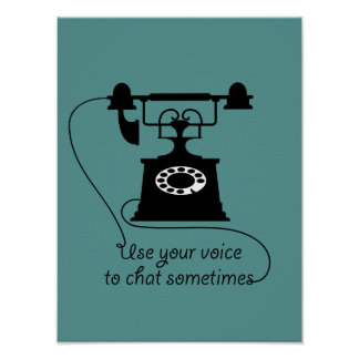 Communication quote design, vintage style. poster