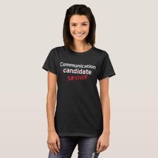 Communication Survivor College Degree T-Shirt