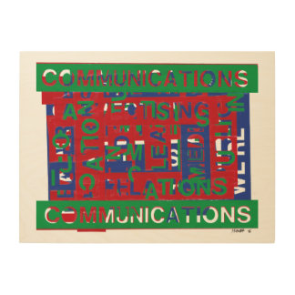 Communications Breakdown Wood Print