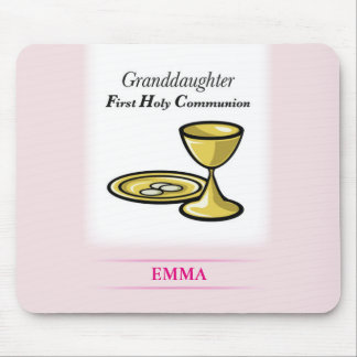 Communion Body and Blood Granddaughter Mouse Pad