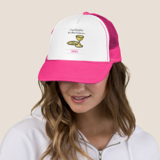 Communion Body and Blood Granddaughter Trucker Hat