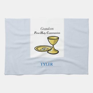 Communion Body and Blood Grandson Tea Towel
