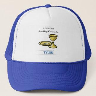 Communion Body and Blood Grandson Trucker Hat