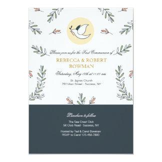 Communion Dove Invitation