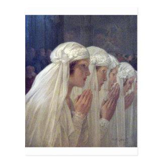 communion privat livemont postcard
