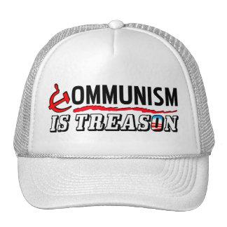 Communism Is Treason! Mesh Hat
