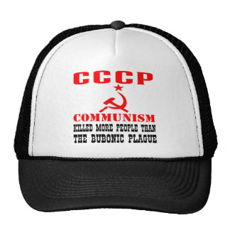Communism Killed More People Than Bubonic Plague Trucker Hat