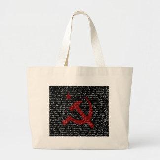 Communism Large Tote Bag