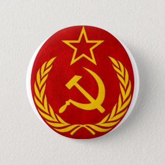 communism Russian symbol 6 Cm Round Badge