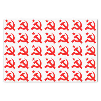Communism sign of hammer vector tissue paper