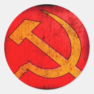 Communism USSR Hammer and Sickle Sticker