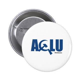 Communist ACLU 6 Cm Round Badge